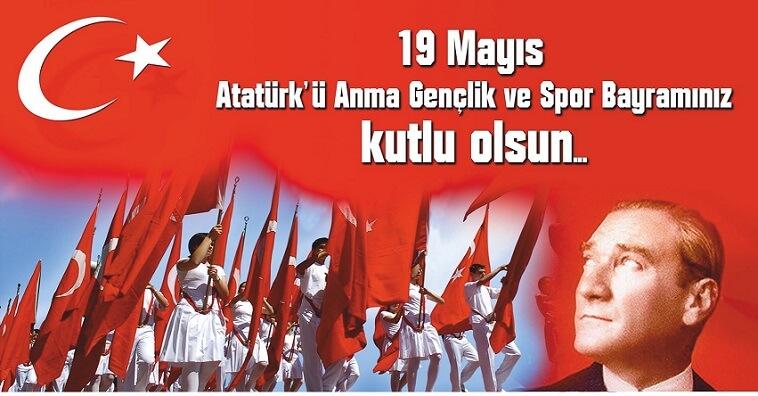 19 Mayıs 2016 Atatürkü Anma Gençlik ve Spor Bayramı