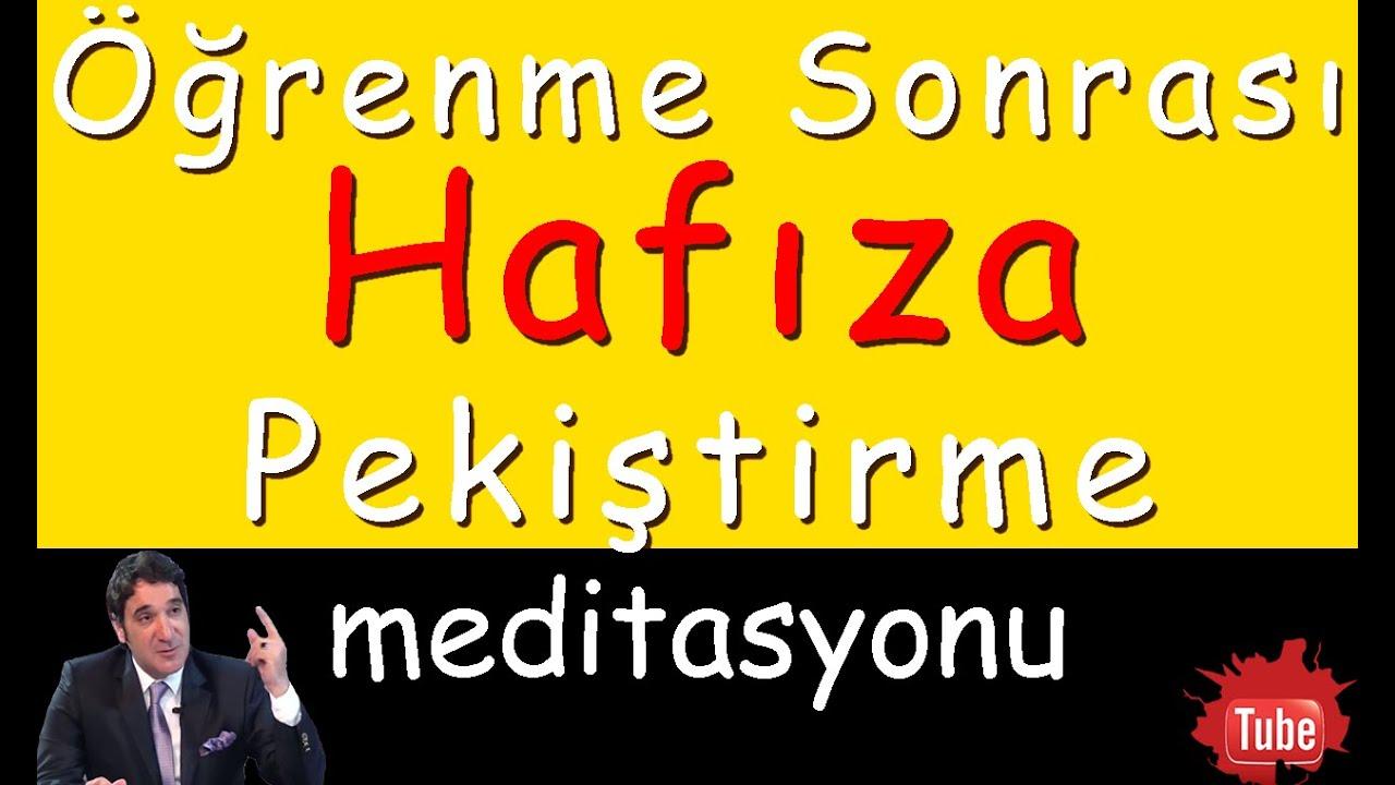 HAFIZA GELİŞTİRME (Meditasyon Videoları)